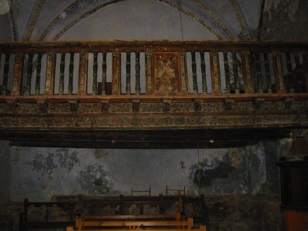 Vista del coro