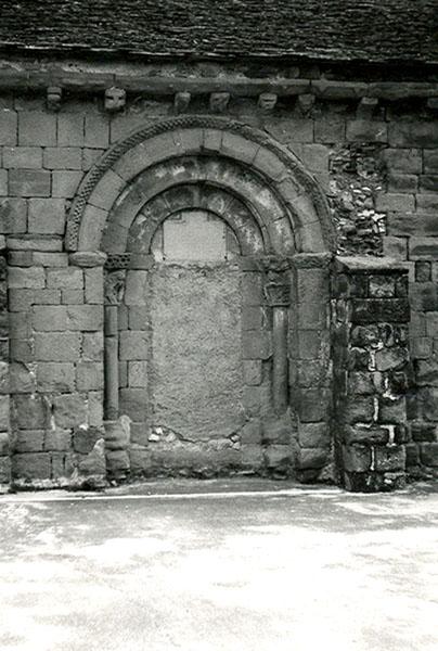 Portada antes de la restauración. 1979