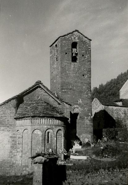 Ábside y torre. 1979