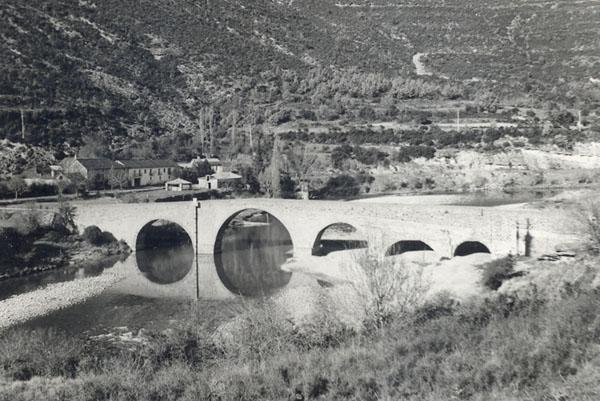 Puente de Anzánigo año 1979