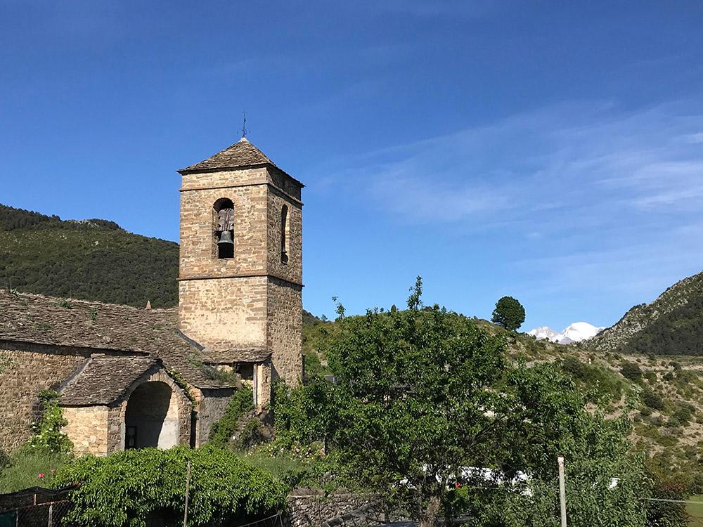 La iglesia en la actualidad. Fotografía: Gabriel Oliván Bascones