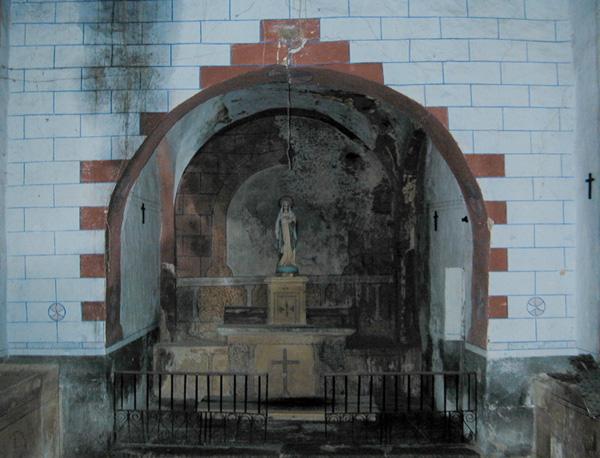 Interior. Ábside. 2001