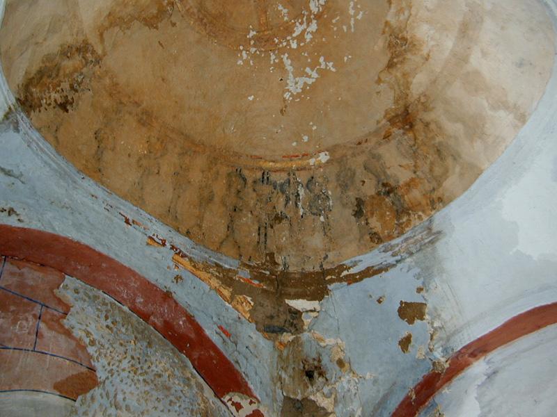 Cúpula del ábside. 2001