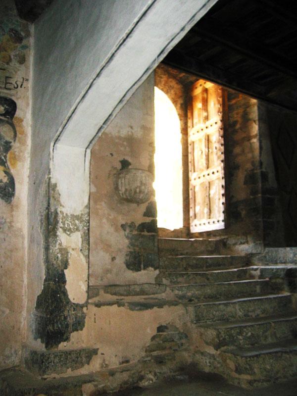 Acceso. Interior