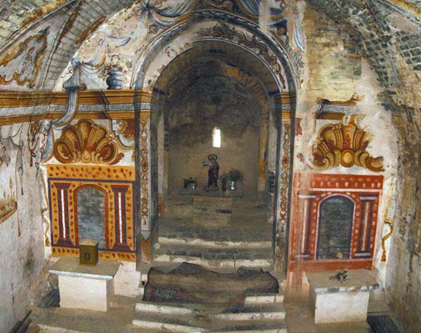 Iglesia de Santa María. Interior. 2002