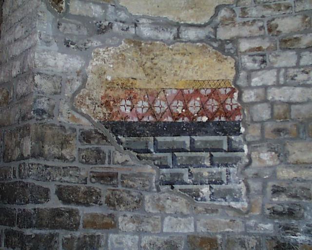 Fragmento de pintura mural. 2001