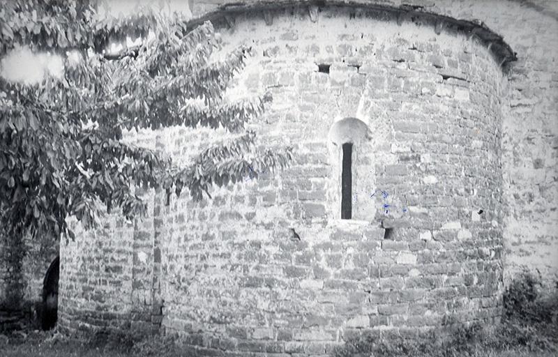 Cabecera. Ábside central. 1979