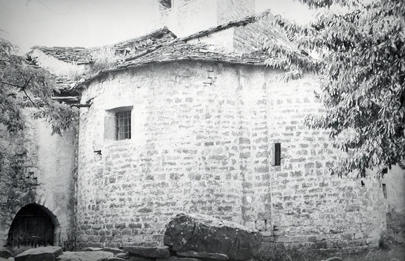 Cabecera. Ábsides central y sur. 1979