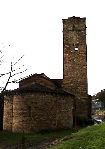 Exterior. Este. Cabecera y torre. 2001