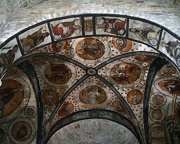 Bóveda. Ábside central. 2001