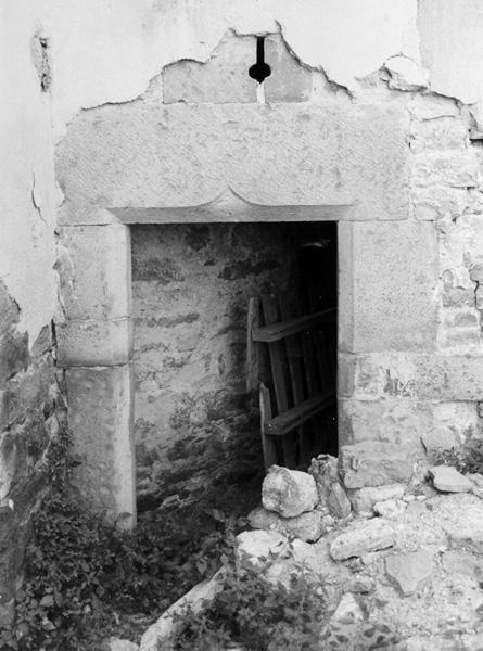Puerta de la escalera. Planta noble. 1997