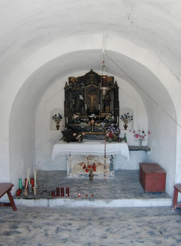 Interior. Ábside