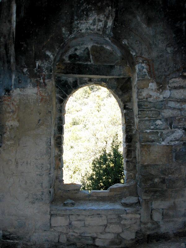 Puerta oeste. Interior. 2000