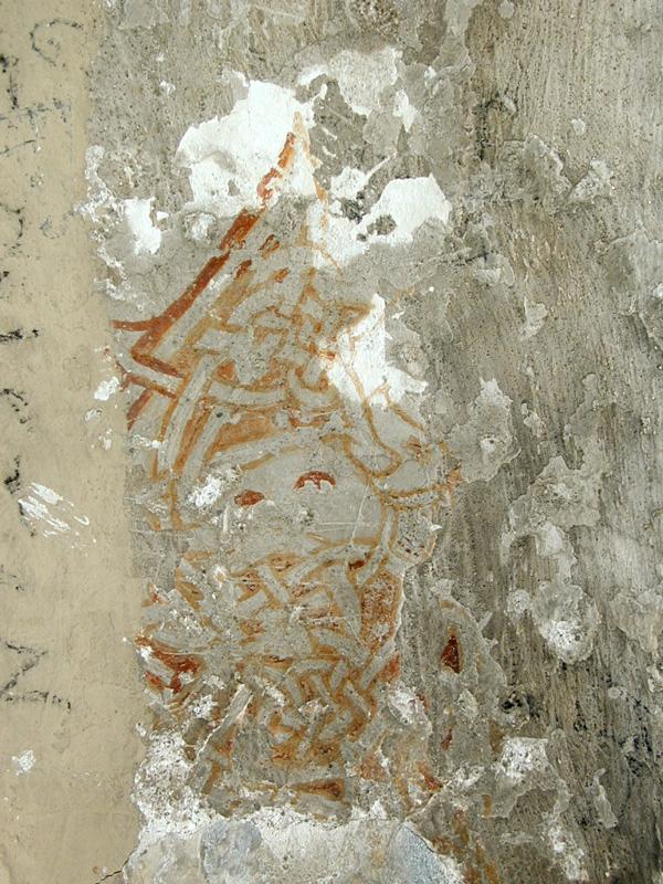 Restos de pintura mural. 2000