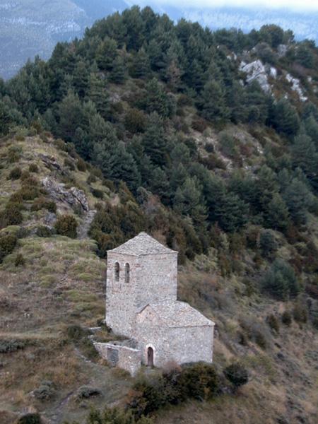 Vista general desde la ermita de la Virgen de la Peña