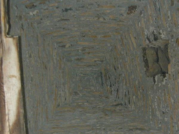 Cubierta interior de la torre