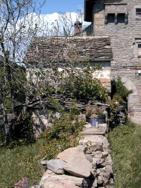 Muro y aljibe