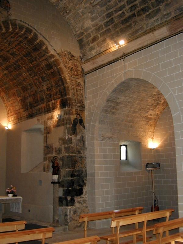 Cabecera y capilla. Lado de la Epístola