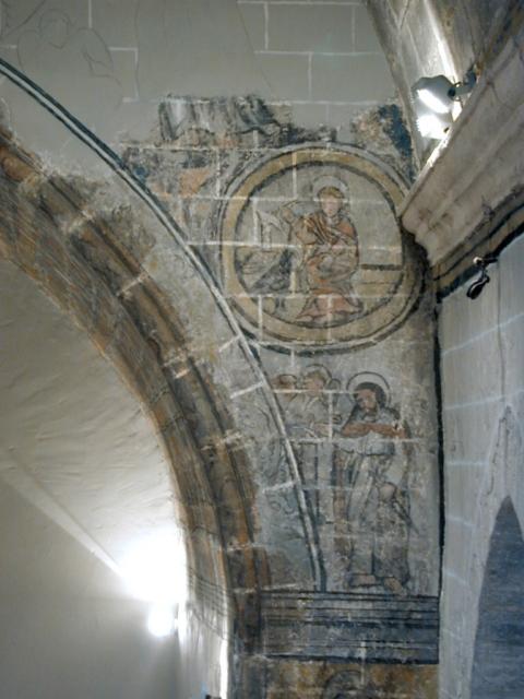 Pintura. Arco presbiterial