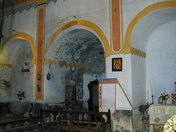 Interior. Capillas del lado del Evangelio