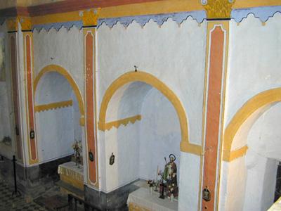 Interior. Capillas del lado de la Epístola
