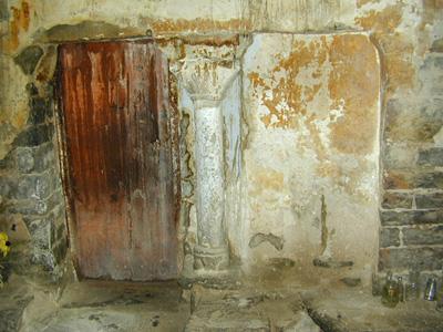 Pórtico. Puerta de acceso a la abadía