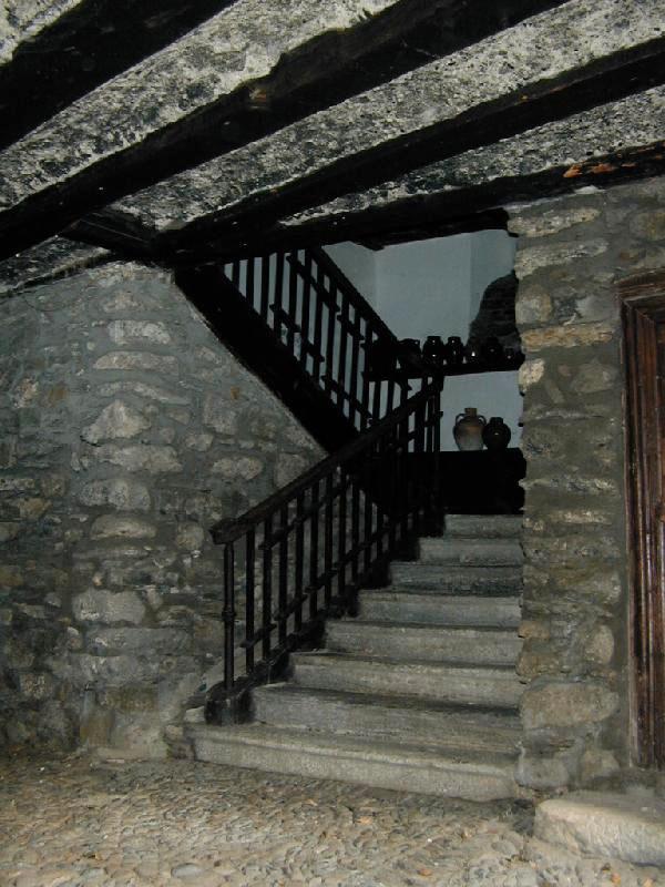 Arranque de la escalera