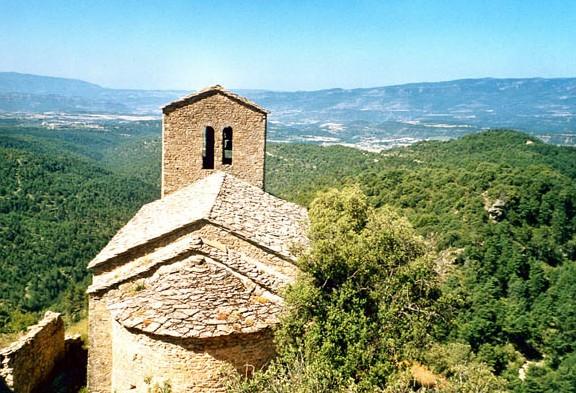 Iglesia. Exterior desde el este