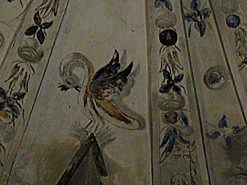 Lado de la Epístola. Capilla. Pintura de la cúpula