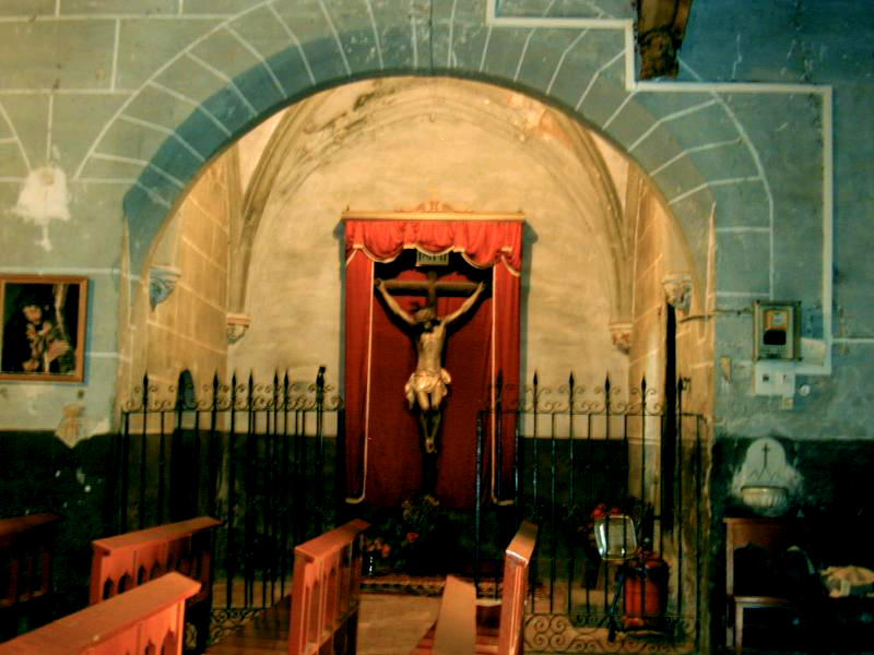Lado del Evangelio. Segunda capilla