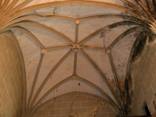 Bóveda del segundo tramo de la nave