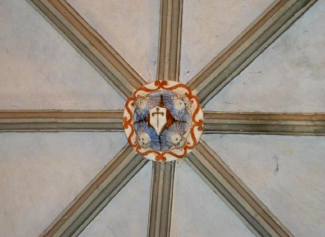 Clave de una de las bóvedas