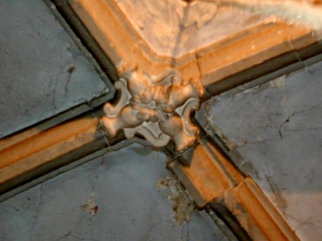 Capilla lateral. Clave de la bóveda