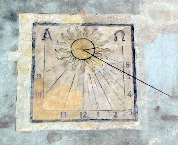 Reloj de sol. 2001