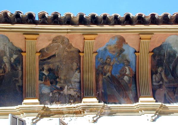 Alero. Pinturas. 2001