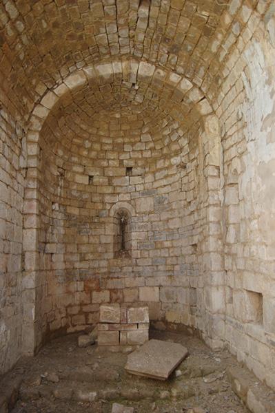 Interior. Ábside. 2011