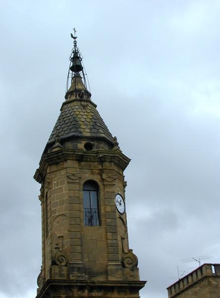 Cuerpo superior de la torre