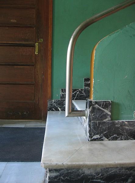 Casa Polo, detalle escalera