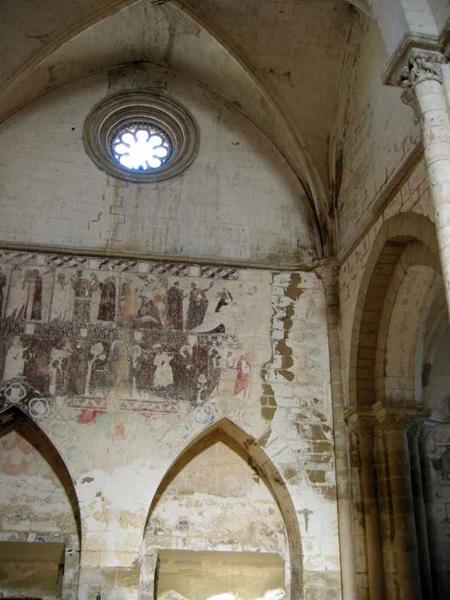 Nave norte y pinturas murales. 2002
