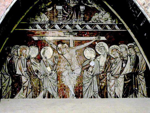 Pintura mural. Escena. 2002