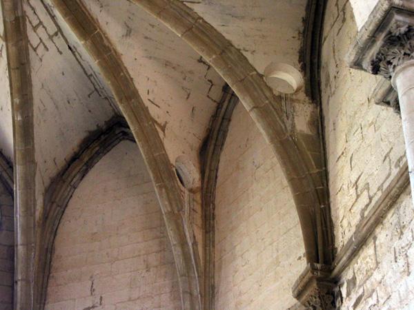 Bóveda del ábside. Nervios. 2002
