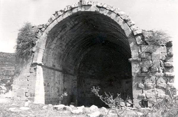 Ermita de San Miguel. Interior. 1979
