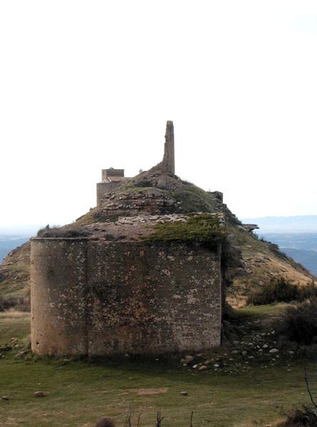 Ermita de San Miguel y castillo. Norte. 2003