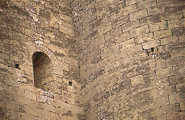 Ermita de la Virgen. Cabecera. Paramentos. 1997