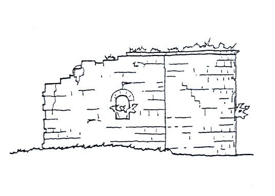 Ermita de San Miguel. Alzado. 1997