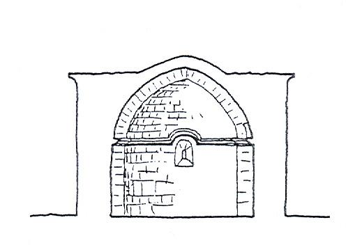Ermita de San Miguel. Sección. 1997