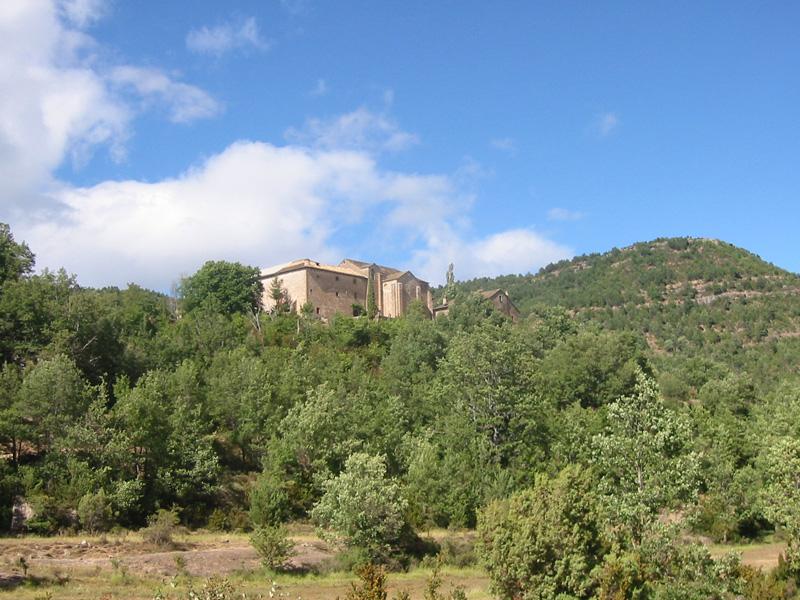 Vista del santuario desde el suroeste. 2000