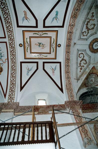 Bóveda de la nave. 2000