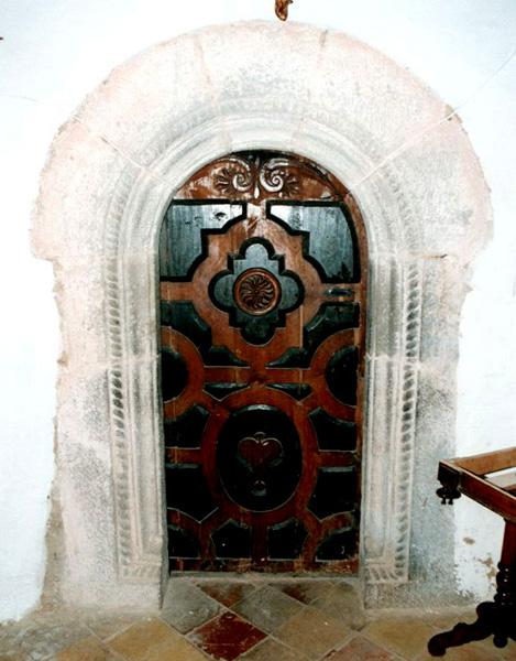 Puerta de la sacristía. 2000