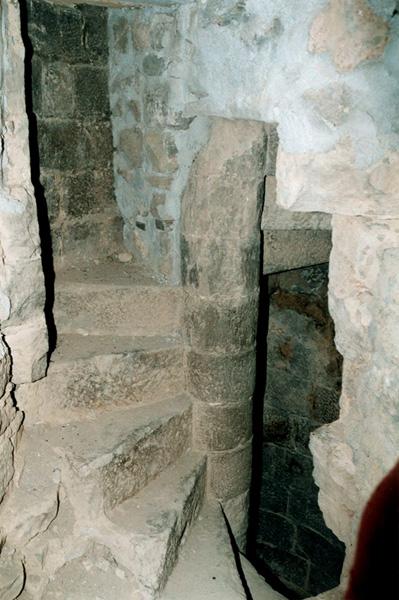 Escalera del campanario. 2000
